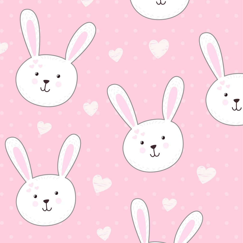 Rabbits pink