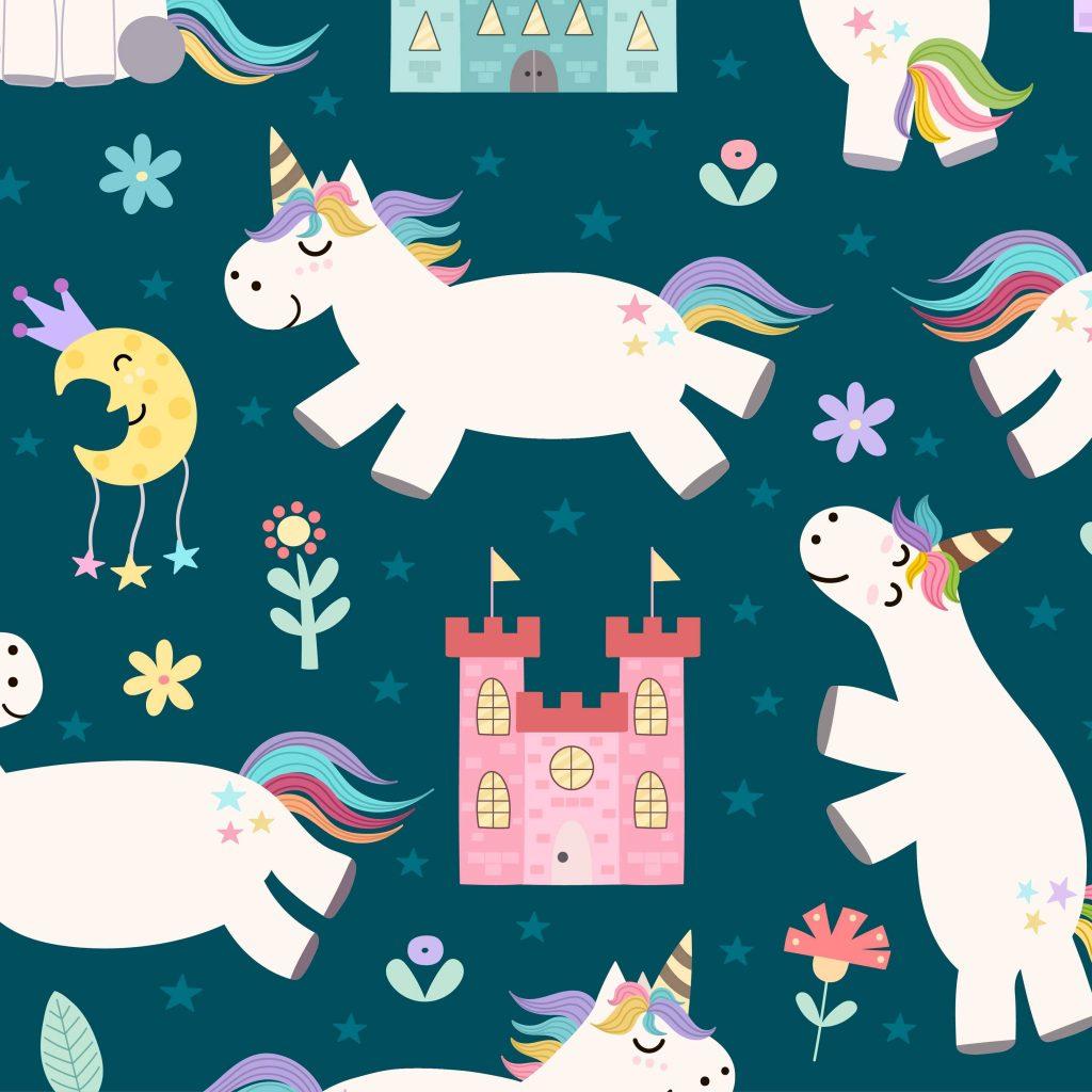 Unicornios/castillos