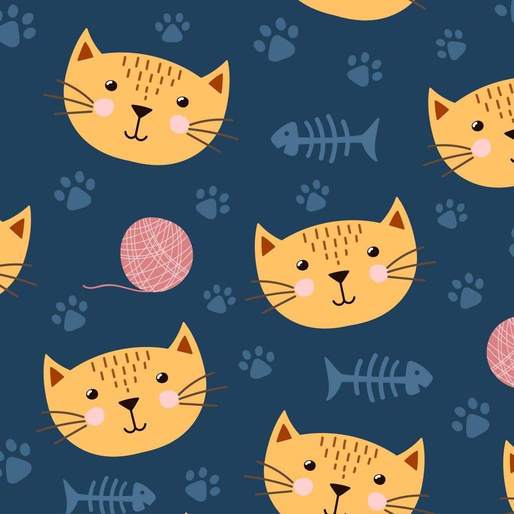 Cats azul