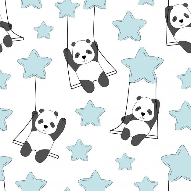 Pandas estrellas